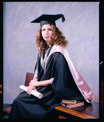 Negative: Miss Peake Graduate