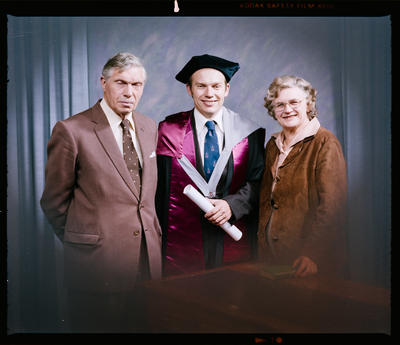 Negative: Dr S. R. Vaughan Graduate and Family