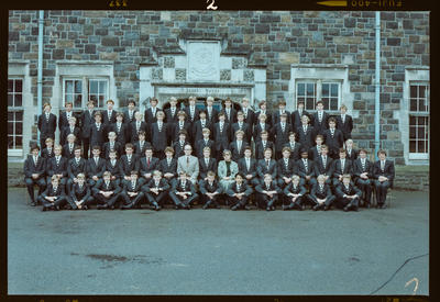 Negative: Christ's College Jacobs House 1981