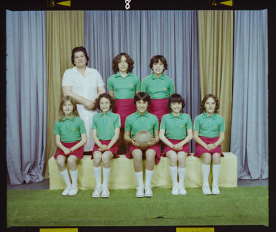 Negative: Hagley Netball Juniors 1981