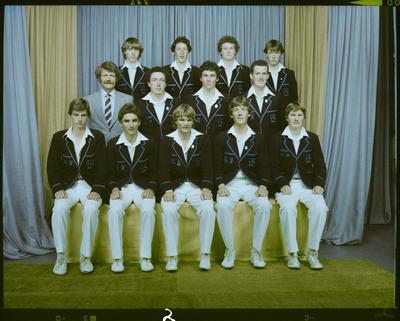 Negative: CBHS 1st XI Cricket 1981