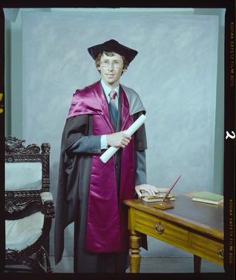 Negative: Mr Webby Graduate