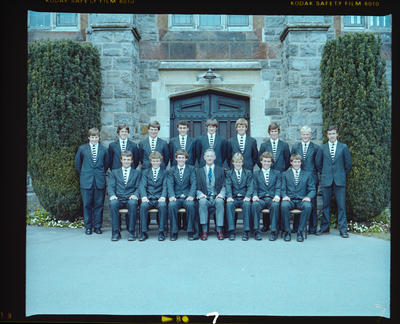 Negative: Christ's College Prefects 1981