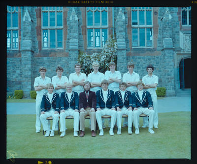 Negative: Christ's College 1st XI Cricket 1981