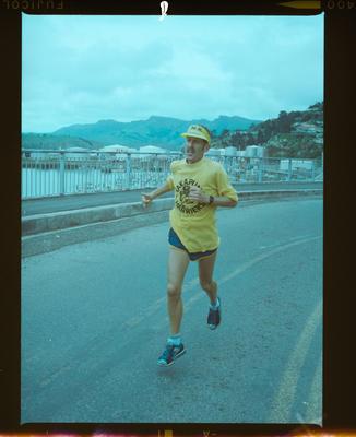 Negative: Unnamed Marathon Runner