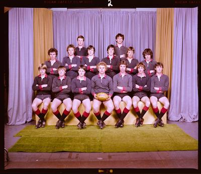 Negative: St Bede's U15 Rugby 1981
