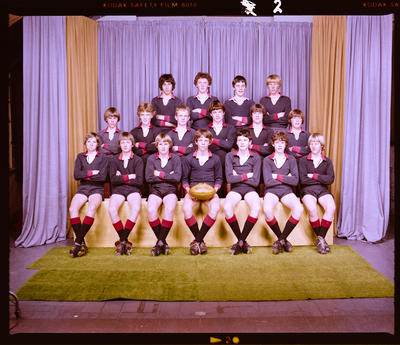 Negative: St Bede's Under Weight Rugby 1981