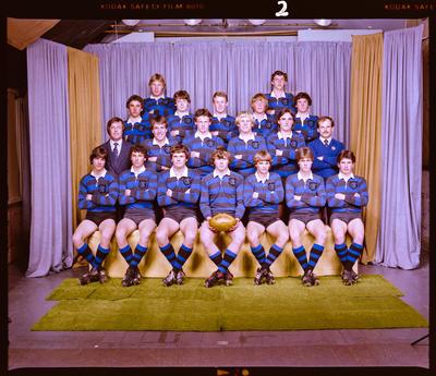 Negative: CBHS 1st XV 1981