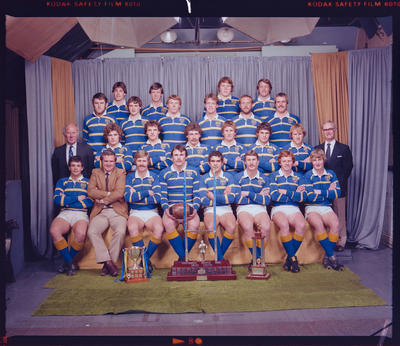 Negative: Lincoln College 1st XV rugby 1981
