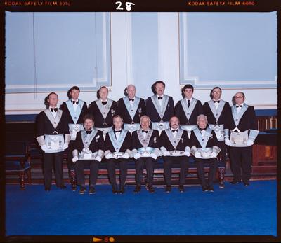 Negative: English Constitution Masonic Lodge Members