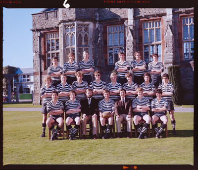 Negative: Christ's College U16 Rugby 1981