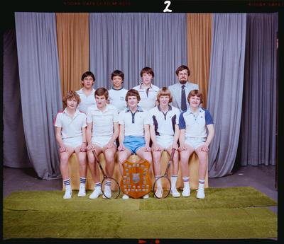 Negative: CBHS Tennis Team 1981