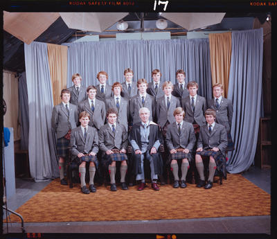 Negative: St Andrew's College Prefects 1981