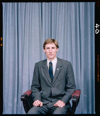 Negative: Mr A. J. Murray Portrait