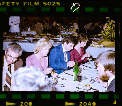 Negative: Rochester Hall Jubilee Dinner 1981