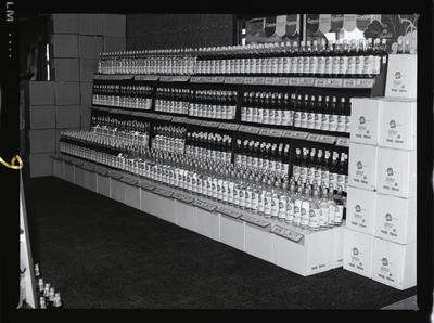 Negative: Shelf Of Bottles In Liquor Store