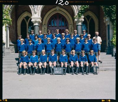 Negative: CBHS Form Class 4SR 1982