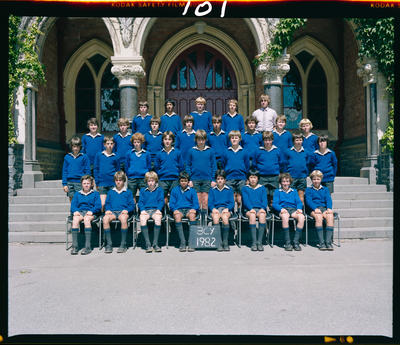 Negative: CBHS Form Class 3CY 1982