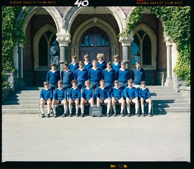 Negative: CBHS Form Class 6G5 1982