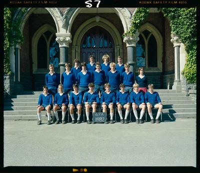 Negative: CBHS Form Class 6PA 1982
