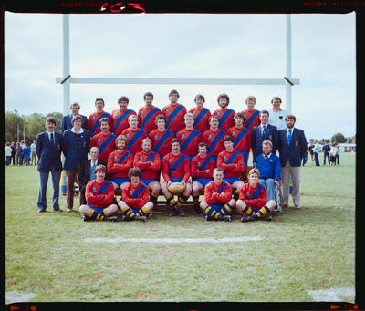Negative: Kaiapoi Rugby Club Team 1982