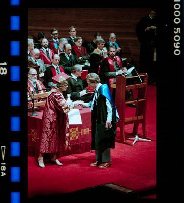 Negative: University Capping Ceremony 1983