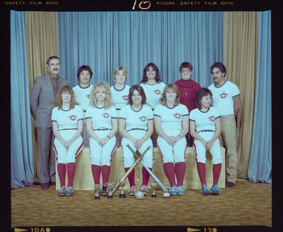Negative: Deans Apparel Softball Team 1983