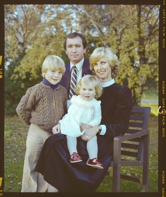 Negative: Granger Family Portrait