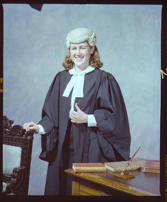 Negative: Miss Loversidge Graduate