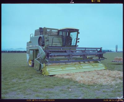 Negative: John Deere Turbo 7720 Combine Harvester