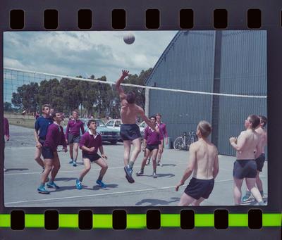 Negative: Burnham Camp Volleyball game