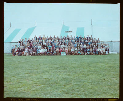 Negative: Linwood North School 75th Jubilee 1928-1937 Group