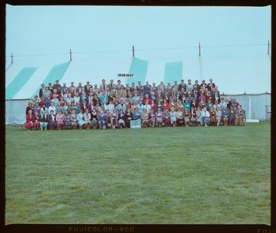 Negative: Linwood North School 75th Jubilee 1938-1947 Group