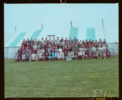 Negative: Linwood North School 75th Jubilee 1948-1957 Group
