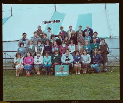 Negative: Linwood North School 75th Jubilee 1958-1967 Group