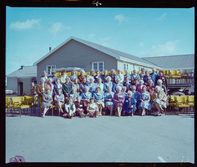 Negative: Air Force Reunion Group Photo 1983