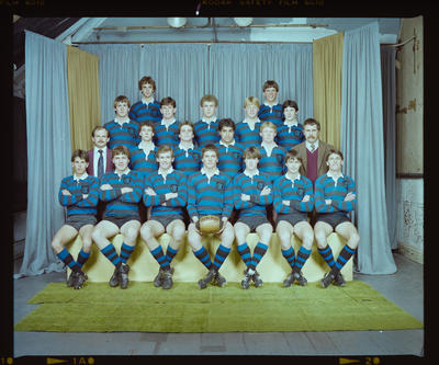 Negative: CBHS 1st XV Rugby 1983