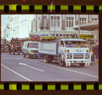 Negative: Vehicles in Road Transport Parade 1983