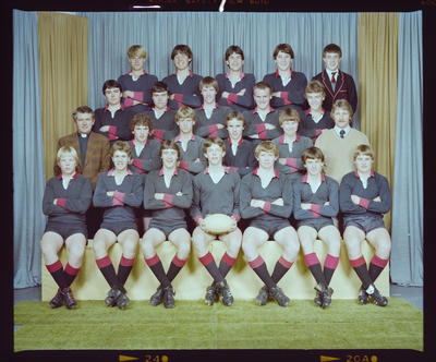 Negative: St Bede's College Rugby Team 1983