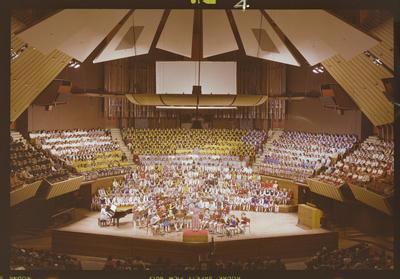 Negative: Schools Choir CHCH Town Hall 1983