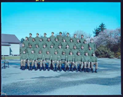 Negative: Burnham Military Camp Platoon