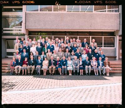 Negative: Christ's College Reunion Group Photo 1983