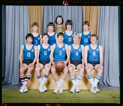 Negative: CBHS A Basketball Team 1983