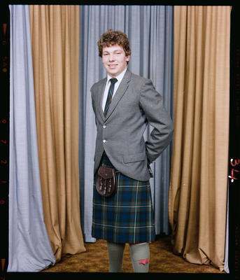 Negative: Unnamed St Andrews Prefect 1983