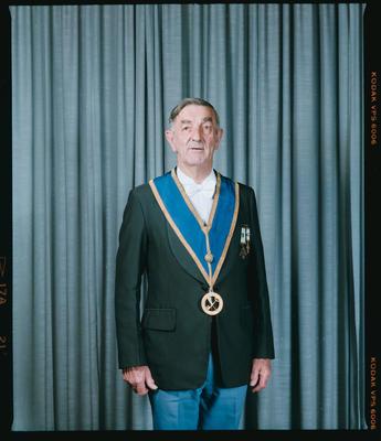 Negative: Mr Bryson Freemason Portrait