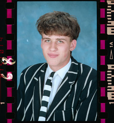Negative: Christ's College 4th Year Student 1990