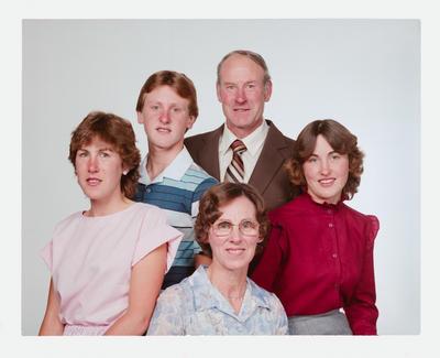 Negative: Daley Family Portrait