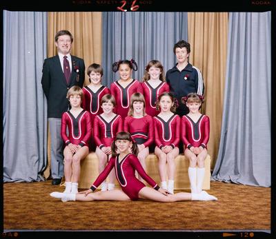 Negative: Canterbury Gymnastics Team Junior Girls 1983