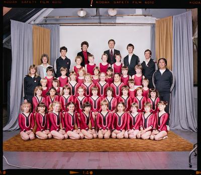 Negative: Canterbury Gymnastics Team Juniors 1983