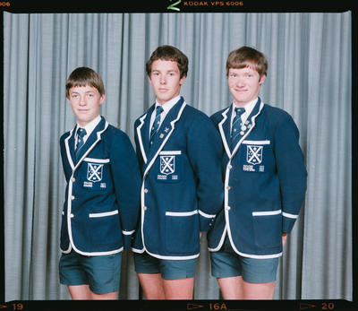 Negative: St Andrews College Rowing 1983